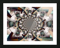 Graphic Ornamental Colorful Picture Frame print