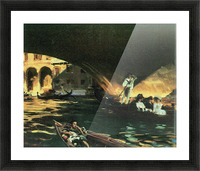 Rialto by John Singer Sargent Picture Frame print