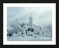 Rivermead After The Storm - Peterborough NH Picture Frame print
