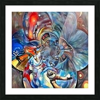 Space Magic Picture Frame print