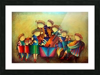 The Musicians  Picture Frame print