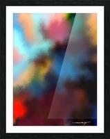 Color Burst - Breathe Picture Frame print