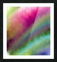 Color Burst - Flower Field Picture Frame print