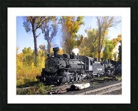 Cumbres and Toltec Railroad Picture Frame print