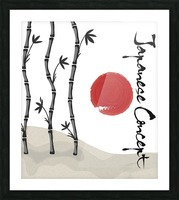 Japanese Concept 01A Picture Frame print