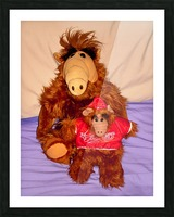Alf And Alf Junior Picture Frame print