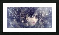 fantasy portrait magic mystical Picture Frame print