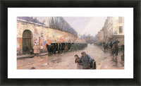 Rue Bonaparte by Hassam Picture Frame print