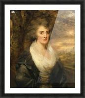 Portrait of Mrs E.Bethune Picture Frame print