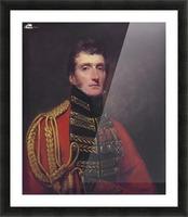 Lieutenant General William Stuart Picture Frame print