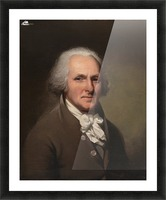 Charles self-portrait Picture Frame print