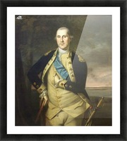 George Wasingthon Picture Frame print