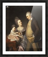 John and Elizabeth Loyd Picture Frame print