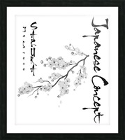 Japanese Concept 02A Picture Frame print