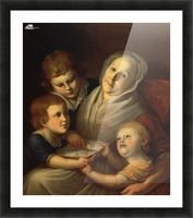 The artist's mother Picture Frame print