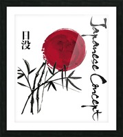 Japanese Concept 08A Picture Frame print