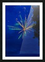 Fireworks 2019 8 Picture Frame print