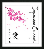 Japanese Concept 07A Picture Frame print