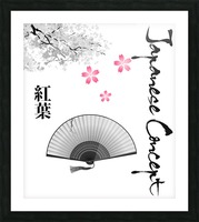 Japanese Concept 11A Picture Frame print