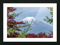 mountain mount landscape japanese Picture Frame print
