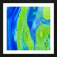 Art Swirls Picture Frame print