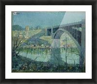 Spring Night Harlem River Picture Frame print