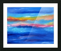 Floating Sky Picture Frame print