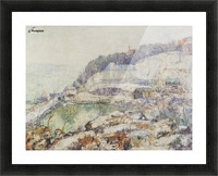 The Hudson Picture Frame print