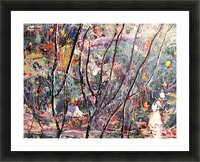 Autum leaves Picture Frame print