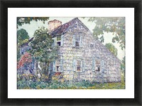 Hassam House Picture Frame print