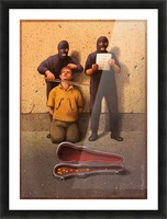 Violon Picture Frame print