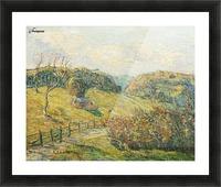 Summer Landscape Picture Frame print