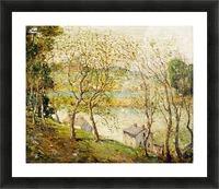 Springtime, Harlem River Picture Frame print