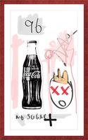 Coca Cola Picture Frame print