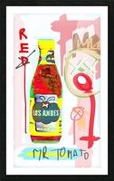 Mr. Tomato Picture Frame print
