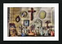 PRAY  -  HDR Picture Frame print