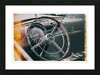 Vintage Chrysler Picture Frame print