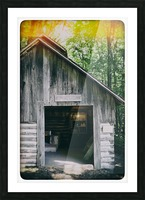 The Maple Shack Picture Frame print
