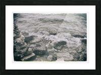 Crashing Waves Picture Frame print