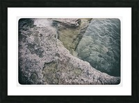Along the water Picture Frame print