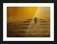 Morning Row Picture Frame print