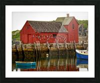 Motif Number 1 - Rockport MA Picture Frame print