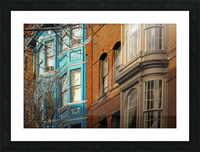 Old Port - Portland ME Picture Frame print