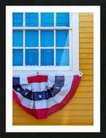 Patriotic Colonial Picture Frame print
