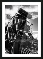 Canadian Steam Locomotive 6015 B Picture Frame print
