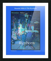 Monster Mike At The Rynborn Blues Club Picture Frame print