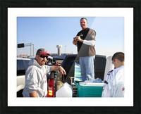 Tailgating At Gillette Stadium Foxborough Massachusetts Picture Frame print