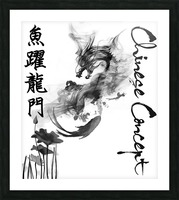 Chinese Concept 46A Picture Frame print