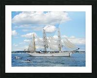 Tall Ships  Newport  Rhode Island Picture Frame print