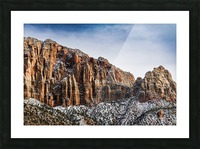 Zion National Park 3 Picture Frame print